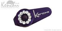 KENCHII KEJS-PURPLE Jewl Screw in Purple, Fits 5.5 Inches Shears and Longer