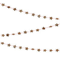 Mini Gold Star Garland