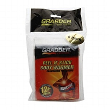 Grabber Warmers Adhesive Body Warmer Pack 6.0ea