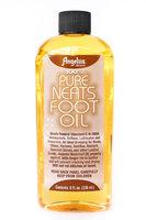 Angelus Pure Neats Foot Neatsfoot Oil Liquid Compound Leather Waterproof 8 oz