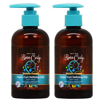 As I Am Born Curly for Babies and Children Argan Curl Defining Jelly 8oz
