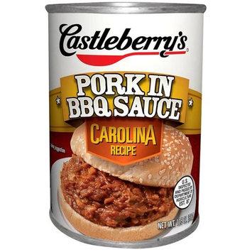 Castleberry's Carolina Recipe Pork in BBQ Sauce, 10.5 oz