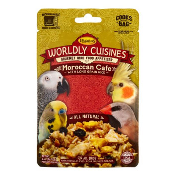 Higgins Wordly Cuisines Moroccan Cafe Gourmet Bird Food For all Birds