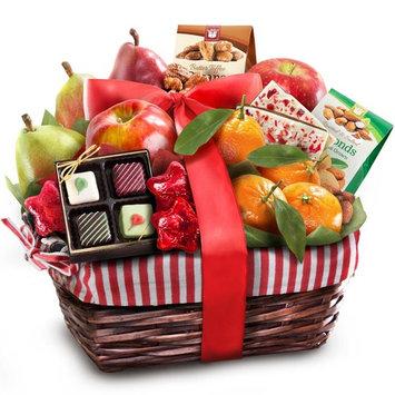 Golden State Fruit Rustic Treasures Holiday Christmas Gift Basket
