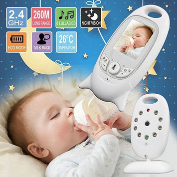 POLYHYMNIA LCD Wireless Digital Audio Video Security Baby Monitor 2 Way Talk Night Vision