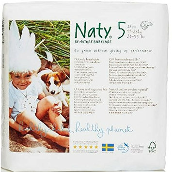 Naty, ECO by Naty Diapers (Size 5, 23 Count, Pack of 1)