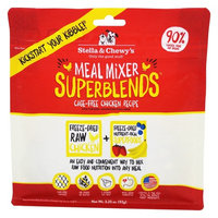Freeze-Dried Dog Food Meal Mixer SuperBlends Cage-Free Chicken Recipe - 3.25 oz.