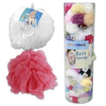 1 Piece Nylon Bath Sponges - Assorted Color