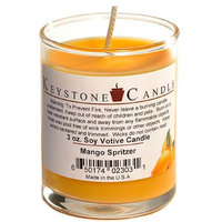 Usc 6 Pcs Votive Candles Soy Mango Spritzer Candle in Votive Cup 2 in. diameter x 2.5 in. tall (Pack of 6)