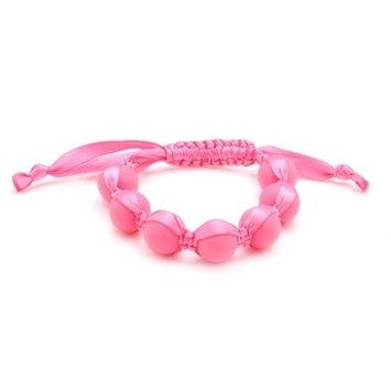 Chewbeads Cornelia Teething Bracelet, 100% Safe Silicone - Punchy Pink