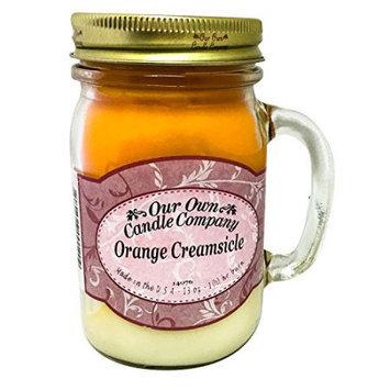 Our Own Candle Orange Creamsicle 13oz. Mason Jar Candle