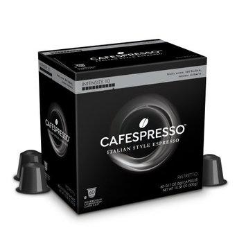 Trilliant Food Cafespresso Ristretto, Nespresso ® Compatible Capsules, 60 count (5 g) capsules, Intensity Level 10
