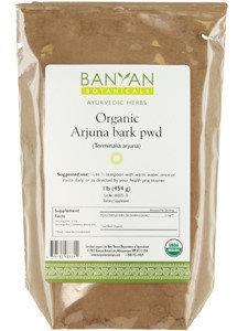 Banyan Botanicals - Organic Arjuna Bark Powder Terminalia Arjuna - 1 lb.