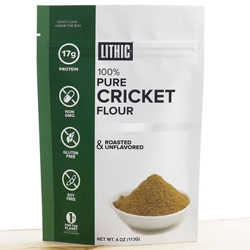 Cricket Flour, Cricket Powder :: 1/4LB (113g) :: Keto Flour :: Paleo Flour :: Sustainable Food :: Whole 30 Friendly :: Gluten Free Flour :: TRIAL SIZE :: Lithic Cricket Flour
