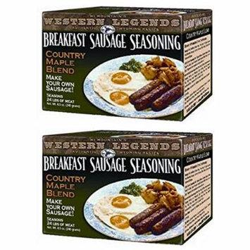 Hi Mountain's Western Legends Breakfast Sausage Seasoning (2 pack)