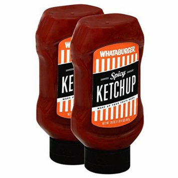 (2-PACK) Whataburger Spicy Ketchup - 20oz Bottle