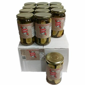 Brooklyn Brine Pickles- Whiskey Sour - Cased Packed 24 oz