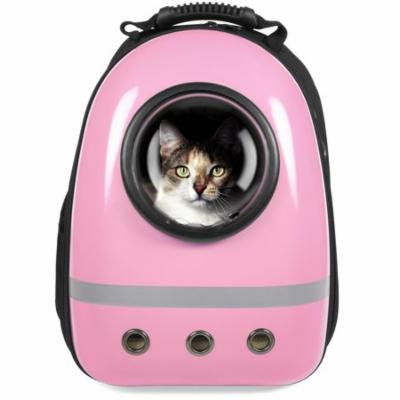 Best Choice Products Traveler Bubble Window Backpack Pet Carrier for Cats and Dogs - Pink