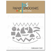 Paper Smooches Dies-Halloween Card