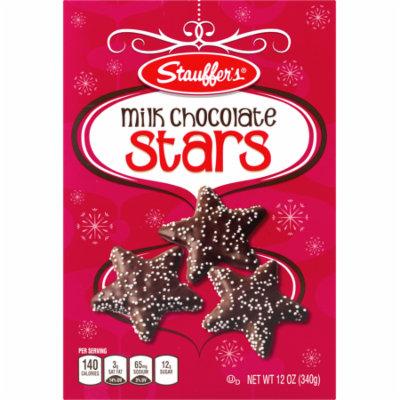 Stauffer's Milk Chocolate Stars 12 oz. Box (3 Boxes)