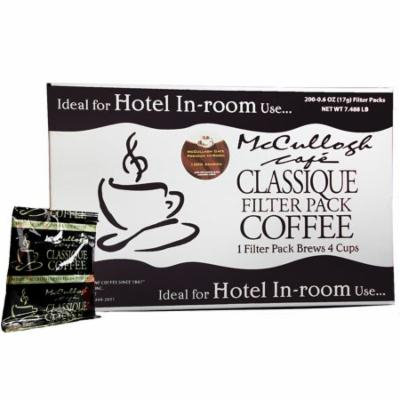 McCullagh - McCullagh Café Classique Premium Blend Coffee (200 ct.) - (coffee - best for winter all season)