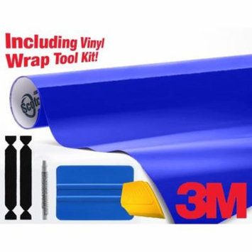 3M Gloss Cosmic Blue 1080 Air-Release Vinyl Wrap Roll - Including Toolkit – Choose Your Size