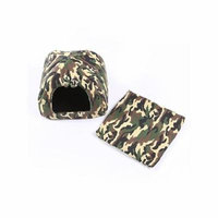 Camouflage Nest Pets House Supplies for Small Dogs / Cats, Autumn and Winter Kennel House for Pets