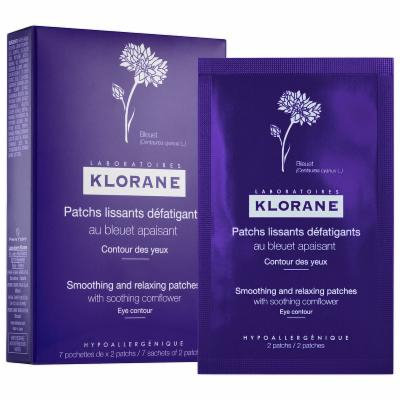 Klorane Smoothing and Relaxing Patches with Soothing Cornflower