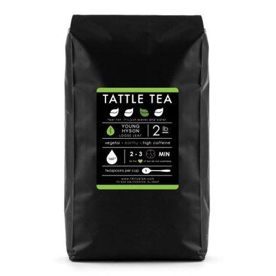 Tattle Tea - Young Hyson green tea, Loose Leaf Tea, 32 Ounce