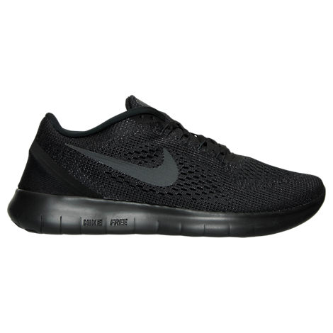 Nike Women's Free RN Running Shoes, Black