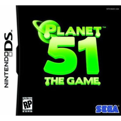 Planet 51 The Game - Nintendo Ds - Sega Ndsseg67032