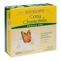 Bigelow Cozy Chamomile Tea, 100 ct. (pack of 6)