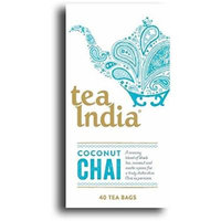 Tea India Coconut Chai 40bag (Pack of 2)