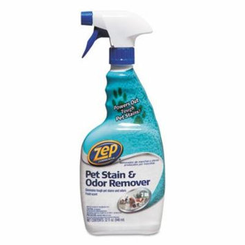 Zep Commercial® Pet Stain And Odor Remover, Fresh Scent, 32 Oz Spray Bottle