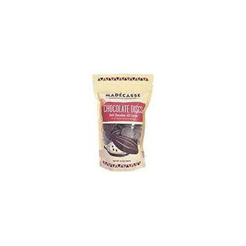 Madecasse Chocolate Discs - 63 Percent Dark - Case of 10 - 10 oz.