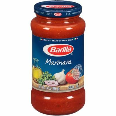 Barilla Marinara Sauce 24 Ounce (Pack of 2)