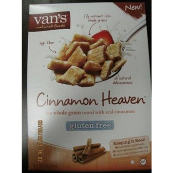 Van's Cereal, Cinnamon Heaven, Gluten-Free 11 oz. (Pack of 6)