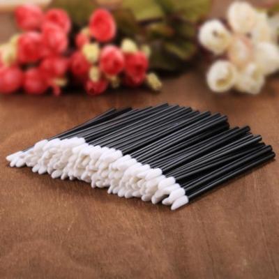 100 PCS Soft Fleece Disposable New Make Up Lip Brush Lip Gloss Brush Wands Applicator DEYAD