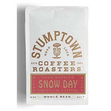 STUMPTOWN Coffee Roasters Whole Bean SNOW DAY Direct Trade, 12 oz Roasted in Small Batch in Los Angeles, California