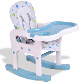 3 in 1 Baby High Chair Convertible Play Table - Yellow