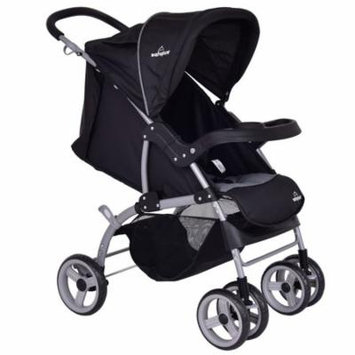 3 in 1 Foldable Steel Travel Baby Stroller w/ Safety Seat