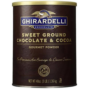 Ghirardelli Chocolate Sweet Ground Chocolate & Cocoa Beverage Mix
