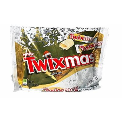 Twixmas White Twix Candy Bars 10.83 Ounce Bag - 2 Pack