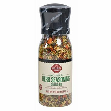 Wellsley Farms No Salt Herb Seasonings Grinder, 6.7 oz. (pack of 6)