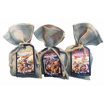 Wind & Willow Roasted Pecan Seasoning Mix Trio - Caramel Apple, Cinnamon & Sugar, and Cocoa & Cayenne
