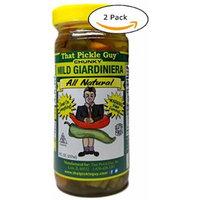 That Pickle Guy All Natural Mild Chunky Giardiniera (8 oz) (2 Jars)