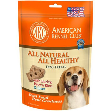 Cherrybrook AKC All Natural All Health Treats 12oz Liver Barley and Brown Rice