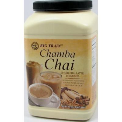 Chamba Chai Spiced Chai Latte 4lb. Container, Garden, Lawn, Maintenance