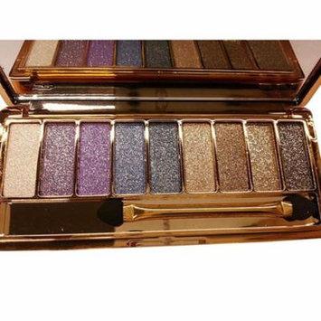 9 colors Waterproof Makeup Eyeshadow Glitter Palette with Brush CEAER