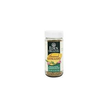 Eden Foods - Organic Seaweed Gomasio Sesame Seeds, Seaweed & Sea Salt - 3.5 oz. pack of 6